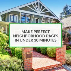 Everyone talks about building neighborhood pages...But why should you focus on making neighborhood pages? Here's why: They help EVERY aspect of your marketing...Read more.