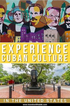 If you want to delve deeper into Cuban culture within the United States, here is a brief guide of culturally significant destinations in the U.S. that you can visit. #cubatraveltips #cubaculture #travelguide #traveltips #unitedstatesguide Travel Guides, Travel Tips, Cuba Itinerary, Cuba Culture, Cuba Travel, Cuban, Religion, United States, Travel Advice