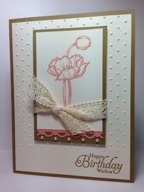 Stampin' Up! Simply Sketched Birthday Card