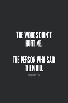 Words Hurt on Pinterest | Cancer Zodiac Signs, Emotional Abuse and ...