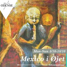 Mexico i Øjet. Rey Morales - Udstilling på Galleri Galschiøt. Læs anbefalingen på: http://www.thisisodense.dk/da/21507/mexico-i-oejet