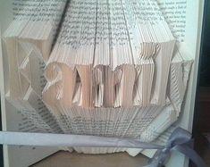 Book folding pattern for Friends FREE von BookFoldingForever