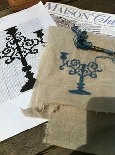 Très beau free chandelier sur le blog de Piatine!