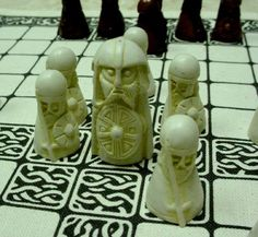 Hnefatafl, an ancient Viking board game, revived