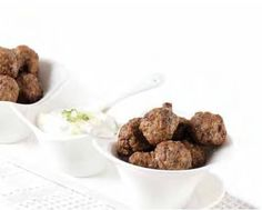 Recipe Greek Style Meatballs by FeedYaFace, learn to make this recipe easily in your kitchen machine and discover other Thermomix recipes in Main dishes - meat. Home Recipes, Dog Food Recipes, Latest Recipe, Appetisers, Greek Recipes, Main Dishes, Basic Recipe, Favorite Recipes, Cooking