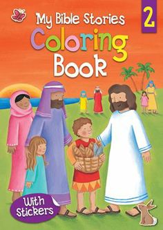 My Bible Stories Coloring Book 2  -     By: Juliet David