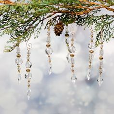 Crystal Ornaments & Hangers