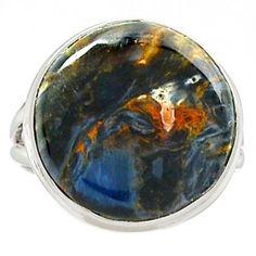 Pietersite-925-Sterling-Silver-Ring-Jewelry-s-8-SR173234