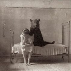 """I don't know how much more I can take dear.  Do you have to be such a bear in the mornings?"""