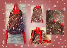 *Kleiner Weihnachts-Rucksack* von Elkes Kreativstübchen auf DaWanda.com