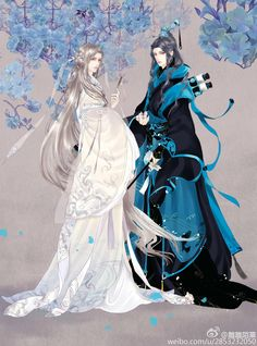 TianXing and ShuoYue Chinese Picture, Chinese Style, Character Inspiration, Character Art, Character Design, Magic Anime, Chinese Drawings, L5r, China Art