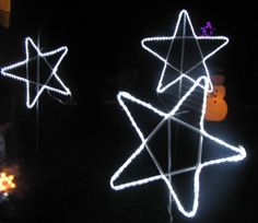 PVC LED Stars