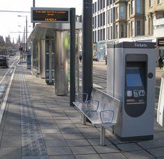 Rugged Touch sensors selected for Edinburgh Tram self-service Ticket Kiosk display panel.