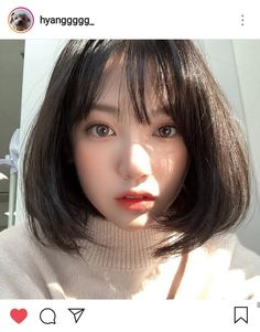 Want to know more about simple short hairstyle looks Ulzzang Short Hair, Asian Short Hair, Girl Short Hair, Short Girls, Korean Beauty, Asian Beauty, Ulzzang Girl Fashion, Aesthetic Girl, Girl Pictures