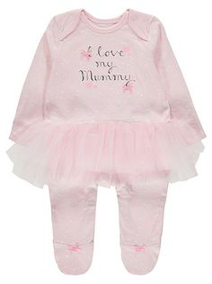 I Love My Mummy Tutu All in One, read reviews and buy online at George at ASDA. Shop from our latest range in Baby. It doesn't get any more adorable than see...