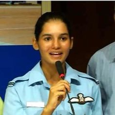 Avani Chaturvedi First Indian Woman Pilot To Fly Fighter Jet MiG-21 Bison......JAI HIND.