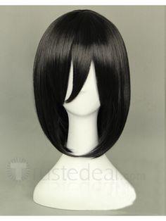 Attack on Titan Shingeki No Kyojin Mikasa Ackerman Black Cosplay Wig$18.99 <3 -->> http://www.trustedeal.com/attack-on-titan-shingeki-no-kyojin-mikasa-ackerman-cosplay-wig1.html
