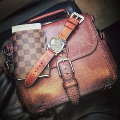 The bag is breaking in quite nicely.   Saddleback Leather Co.   Satchel   100 Year Warranty   $308.00 - $408.00
