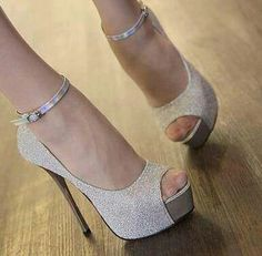 7f9ff2271fb4 Shop Wonderful Gray Platform Stiletto Heels PU Upper Peep-toe Women Shoes  on sale at Tidestore with trendy design and good price. Come and find more  fashion ...