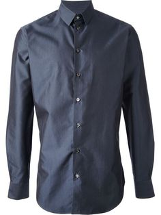 b86750f3f94e Giorgio Armani Mini Polka Dot Shirt - Giulio - Farfetch.com Polka Dot Shirt,