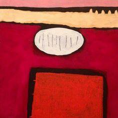Monica M. Solinas, Incastri, appartenenze e disastri, acrilico su tela, cm 20x20, 2013