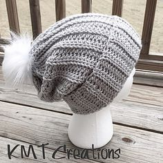 Ravelry: Simple and Sleek Slouch Hat pattern by Kayla Norris