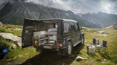 Die G-Box von Ququq macht aus dem Geländewagen einen Mini-Camper. (Quelle…