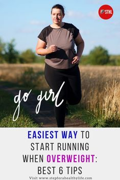 If you're overweight, running is a great option that can help you improve your health, get in shape, boost your confidence, and achieve a healthy weight. That said, getting started with Running When You're Overweight may be a bit more challenging if you are overweight due to the fact that extra body fat. How to start running for beginners, running tips,motivated to run,running tips for beginners,weight loss plan.