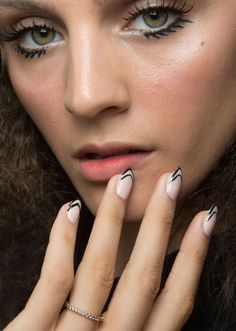 The 33 Best Nail Inspiration Pics From Fashion Month | StyleCaster