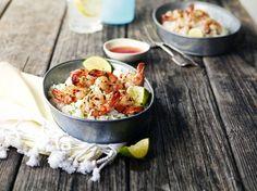 Garlic Lemongrass Shrimp