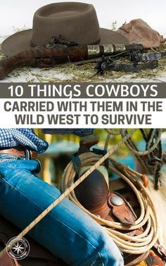 10 Things Cowboys Carried With Them In The Wild West To Survive - What is most interesting about the article is that when you look at the items you will see parallels to what we all carry today. After…More 1 2 0 0 5 9 Survival Items, Survival Life, Survival Food, Homestead Survival, Wilderness Survival, Camping Survival, Outdoor Survival, Survival Prepping, Emergency Preparedness