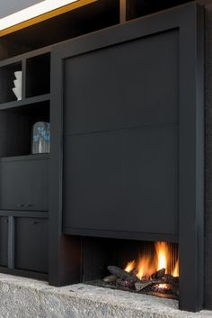 Fire place by Filip Tack design office & Bosmans Haarden