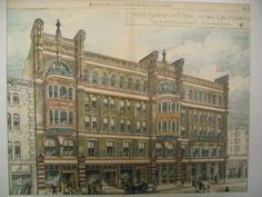 Hildreth Building , Lowell, MA, 1883, Van Brunt and Howe