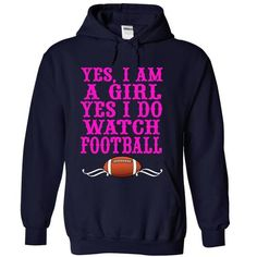 Im A Girl! Yes, I LOVE To Watch Football