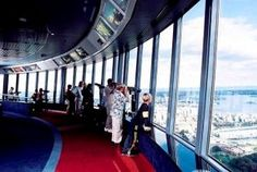 Because of the Sydney Tower with it's great view over the city! Better not be afraid of heights! List Of Countries, Great View, Amazing Destinations, Places To See, Sydney, Tower, Australia, Country, City