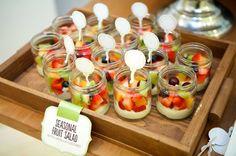 Boy's Animal Parade First Birthday Party Fruit Salad Ideas