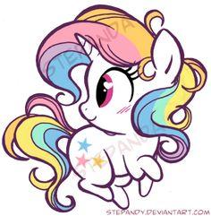 Pony Unicorno by StePandy