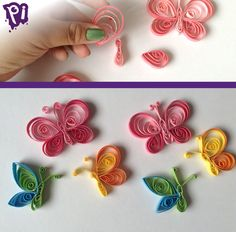 Paper Quilling Tutorial, Paper Quilling Patterns, Quilled Paper Art, Quilling Paper Craft, Paper Crafts, Quilling Cake, Quilling Butterfly, Quilling Work, Quilling Jewelry