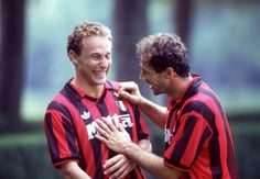 Jean Pierre Papin and Franco Baresi