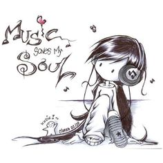 music to my soul ❤ liked on Polyvore featuring backgrounds, drawings, quotes, sketches, doodles, fillers, text, phrase and saying