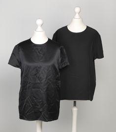 Chanel Auktion Lot 100: 2 Chanel Blusen, schwarze Seide, deutsche Größe 36