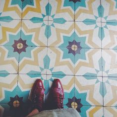 """Great tiles at Tacolicous"""