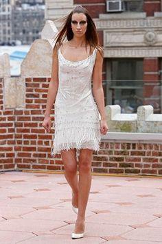 Mini Wedding Dress, Short, Designer Gowns    Colin Cowie Weddings