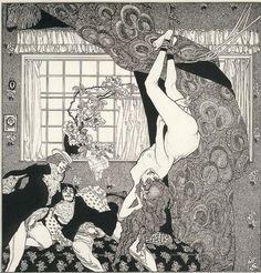 rosenfae:      Erzählungen am Toilettentische, 1908  Franz von Bayros (1866-1924)