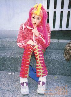 Japanese Street Fashion, Tokyo Fashion, Harajuku Fashion, High Fashion, Fashion Photo, Fruits Magazine, Harajuku Mode, Cool Outfits, Street Wear