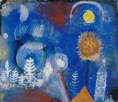 Landschaft-der-Vergangenheit Paul Klee 1918