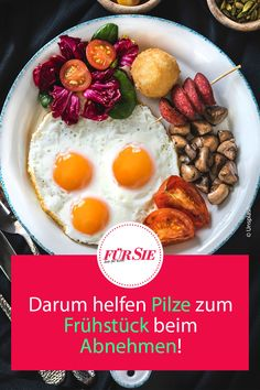 Darum helfen Pilze zum Frühstück beim Abnehmen! #pilze #pilzrezepte #kochenmitpilzen #mushrooms #mushroomrecipes #kochen #genuss #fuersiemagazin Ethnic Recipes, Food, Koken, Porcini Mushrooms, Loosing Weight, Meals