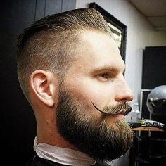 how to beard Beard And Mustache Styles, Beard Styles For Men, Beard No Mustache, Hair And Beard Styles, Perfect Beard, Beard Love, Men Beard, Bart Styles, Cool Mustaches