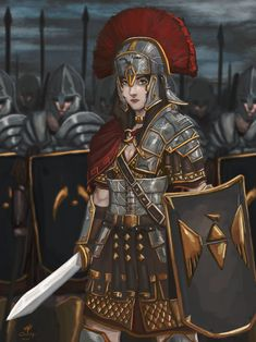 Roman Characters, Dnd Characters, Fantasy Characters, Female Characters, Fantasy Female Warrior, Female Armor, Female Knight, Inspiration Drawing, Character Inspiration