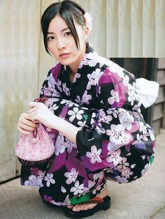 AKB SKE48 member Jurina Matsui looking lovely in Yukata.